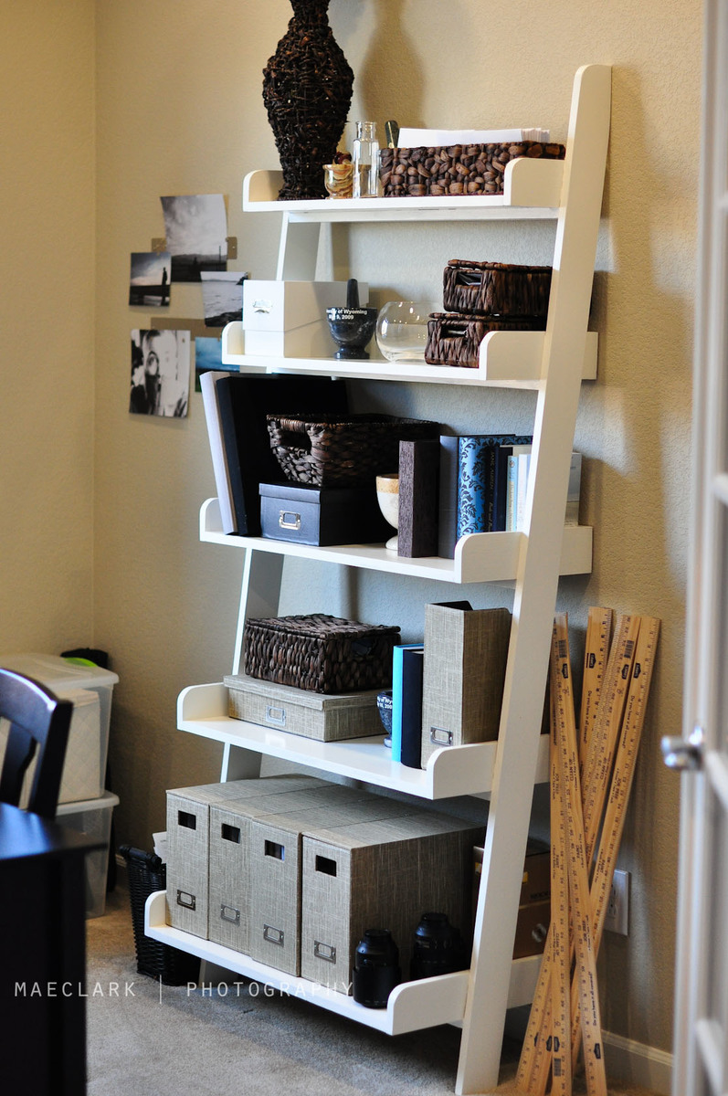 Ana White Leaning Bookshelves DIY Projects