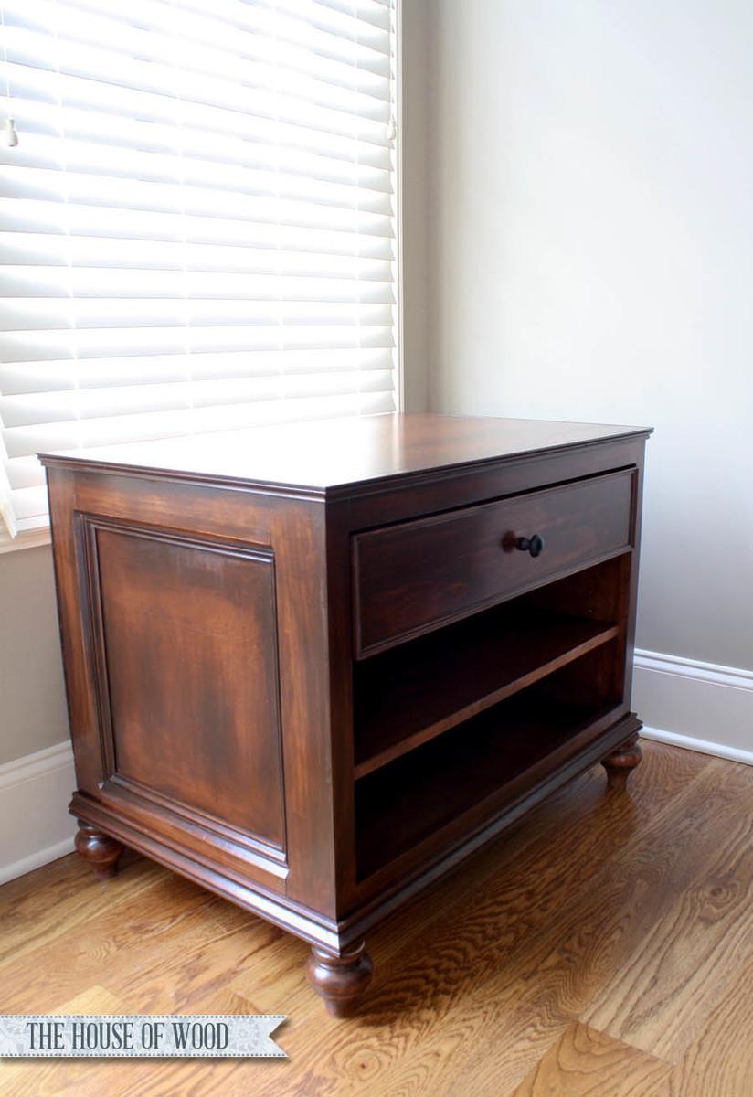 Refined Printer Cabinet Ana White