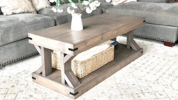 coffee tables ana white