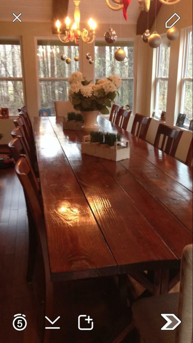 Ana White 14 Dining Room Table DIY Projects