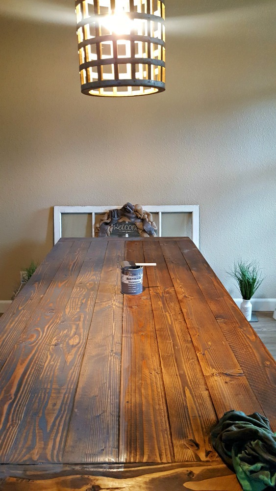 Ana White Rekourt Dining Room Table And Benches Diy