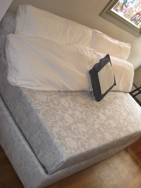 Storage Sofa Single Bed Made With 8 Memory Foam Twin Mattress