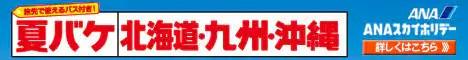 ANAの旅行サイト【ANA SKY WEB TOUR】】】『夏バケ』シリーズ2009