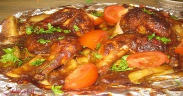 صينية دجاج بالبطاطس بالفرن بطريقه سهله مجلة انا حواء