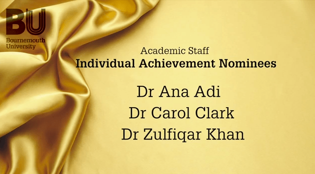 Shortlisted – BU Vice-Chancellor Awards