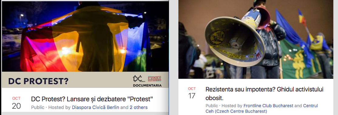 #Rezist in focus: reflections on how to keep civic activism going
