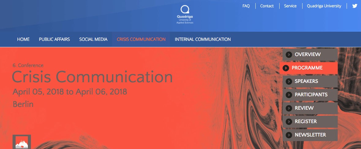 #ICCC18 – crisis communication conference notes