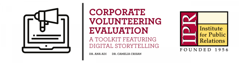 Toolkit: Corporate Volunteering Evaluation with Digital Storytelling