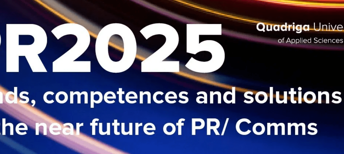 PR2025 – future-proofing PR/Comms (free download)