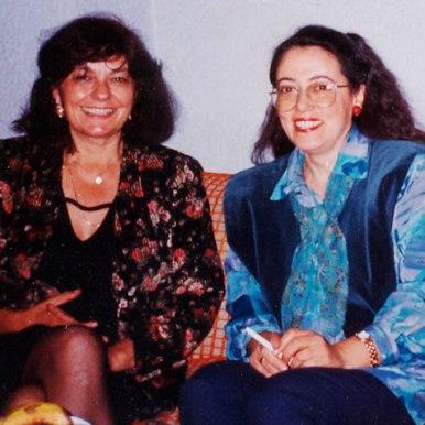 Impreuna cu Rumiana Stanceva, traducatoarea in limba bulgara a poemelor, eseurilor si romanului Sertarului cu aplauze