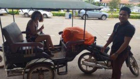 Transporte en Tuk Tuk