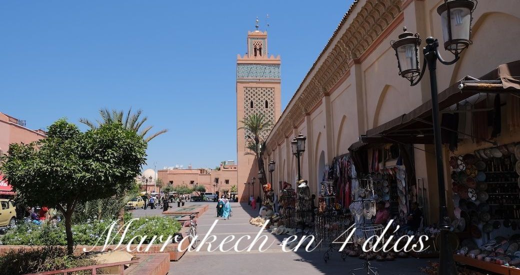 Marrakech en 4 días