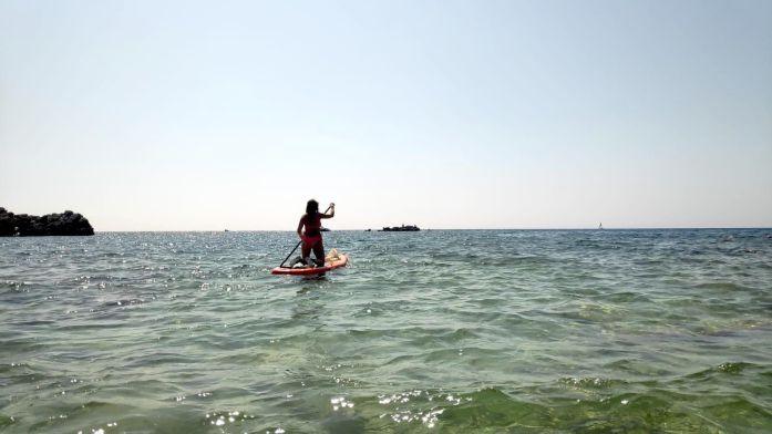 Zona para paddle surf