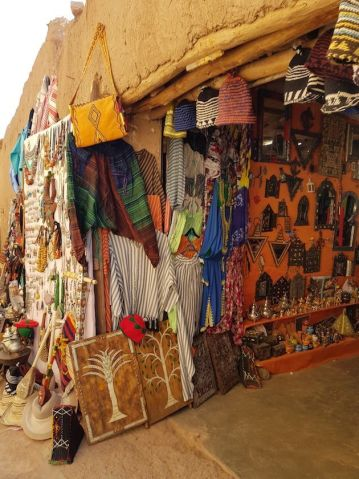 Tiendas típicas en Marruecos
