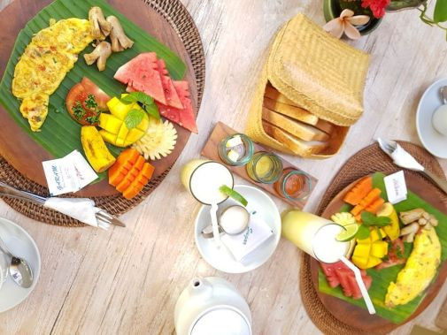 Desayuno villa
