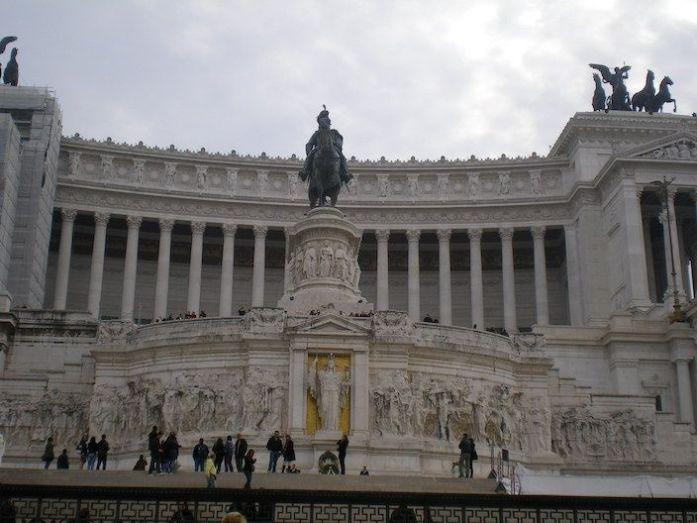 Roma. Monumento Vittorio Emanuele