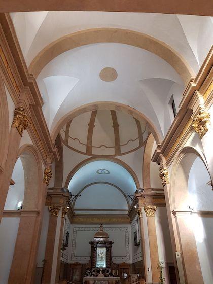 Interior Iglesia Ermitana