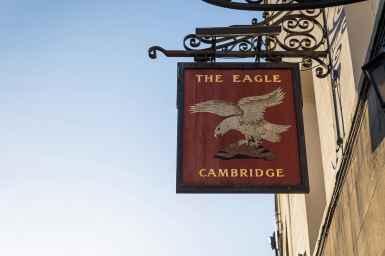 The Eagle Pub, Cambridge