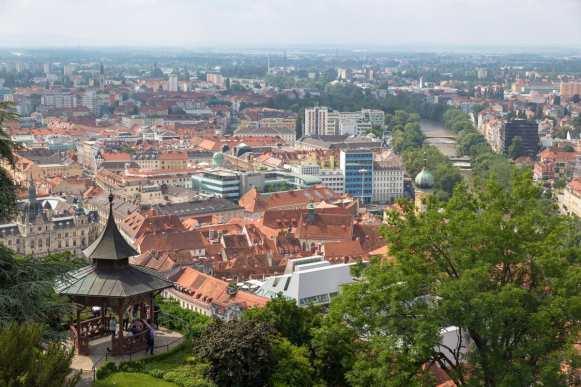views from schlossberg graz 4
