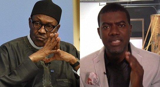 Stop Criticizing Buhari Nigeria World reno omokri looking buhari omokri reno attacks and killings funke olakunrin reno omokri herdsmen nigerians