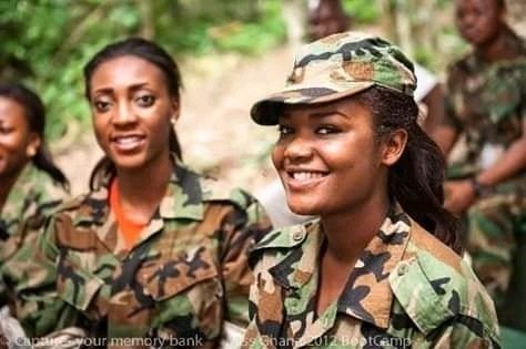 military women propose to men afraid to approach women