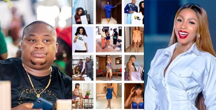 Mercy Yanks Off All Cubana Chief priest And Moët Pictures Of Endorsement Deal From IG Page