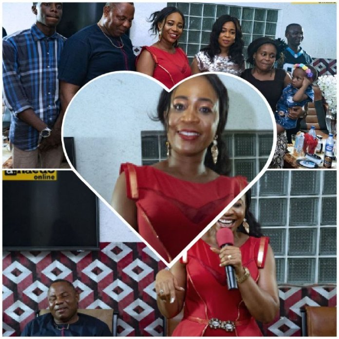 living without borders project living event started lady emmanuella event Barr. Emmanuella Obi Celebrates Birthday in Style, Launches Living Without Border (Photos)