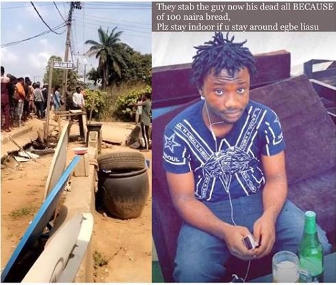 Young Man Stabbed To Death By Mai Suya Over N100 Bread (Photo)