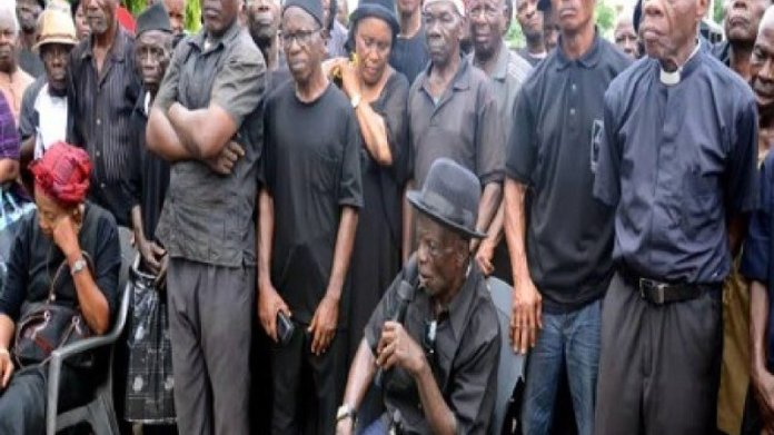 Pensioneers arrested by police in Abia