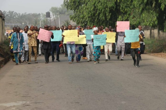 Abians Protest