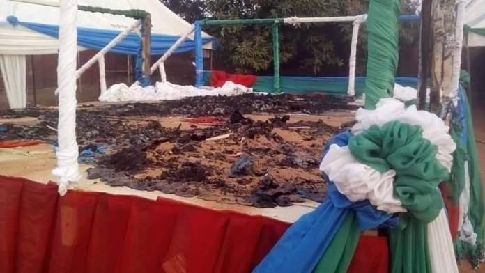 Oshiomole's rally attacked in edo
