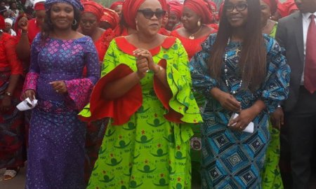 Coronavirus: See What Enugu First Lady Distributed That Sparked Reactions