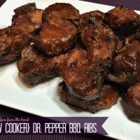 Slow Cooker Dr. Pepper BBQ Ribs