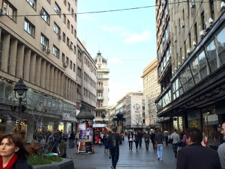Knez Mihailova pedestrian street, Belgrade