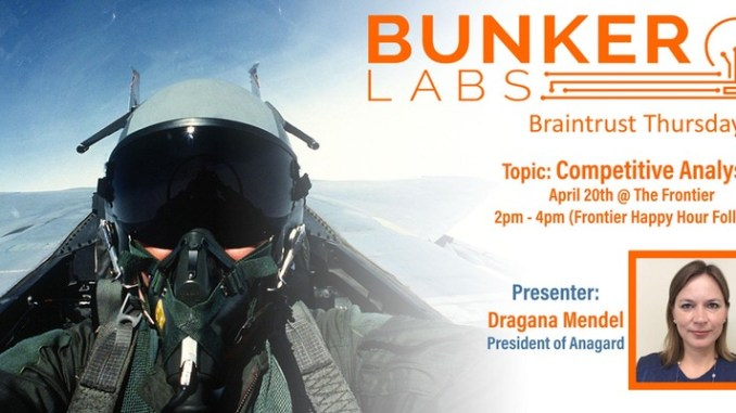 Competitive Analysis Presentation at Bunker Labs