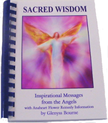Sacred Wisdom Angelic Guidance Book by Glenyss Bourne