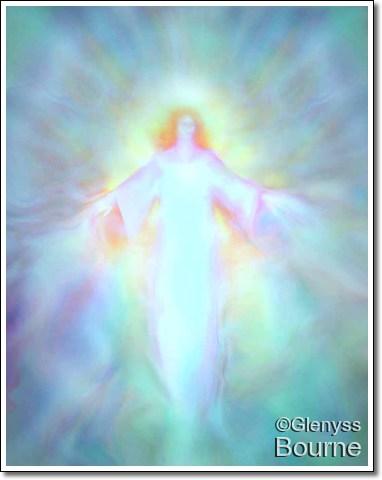 Archangel Haniel painting