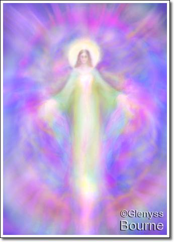 Archangel Mebahel painting