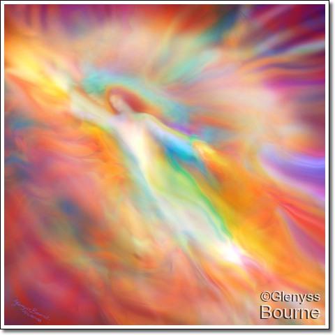 Angel of Illumination and Beauty, Archangel Jophiel painting