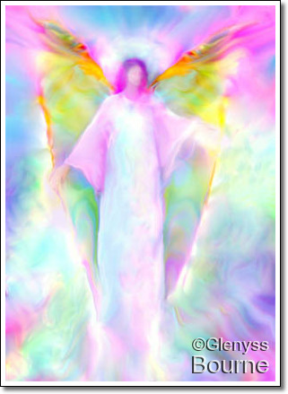 Angel of Light, Archangel Gabriel painting