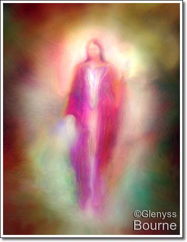 Melchizedek - The Light Bearer  painting