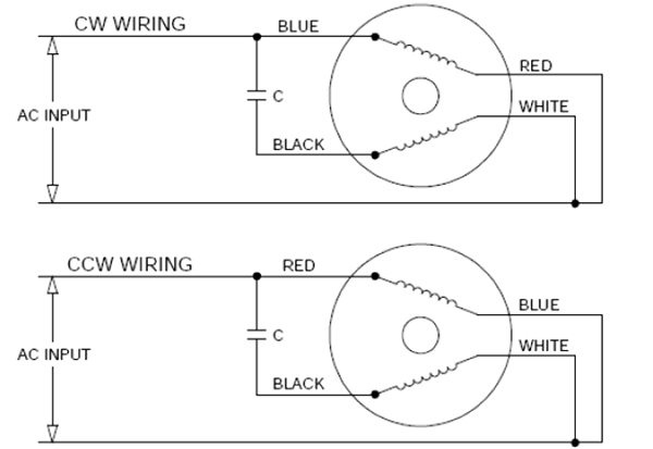wiring diagram for single phase motor capacitor start capacitor start motors diagram explanation of how a