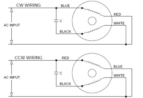 Reversing Single Phase Ac Motor Wiring Diagram The Wiring – Reversing Single Phase Motor Wiring Diagram