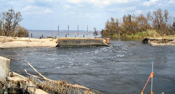 Changes Hurricane Ike Broght To Chambers County Texas