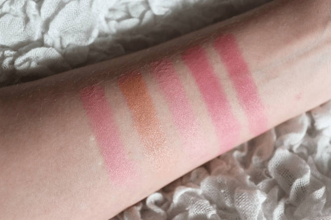 L'Oreal Infallible Blush Paint Palette Pinks Swatch