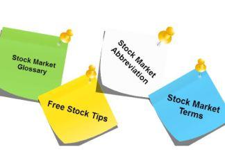 Istilah dalam Pasar Saham