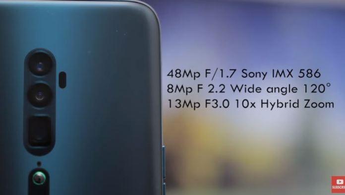 Spesifikasi Oppo Reno 10x Zoom RAM 8GB