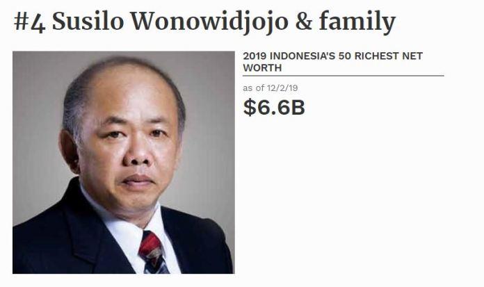 Cerita Sukses Susilo Wonowidjojo, Orang Kaya No 2 di Indonesia