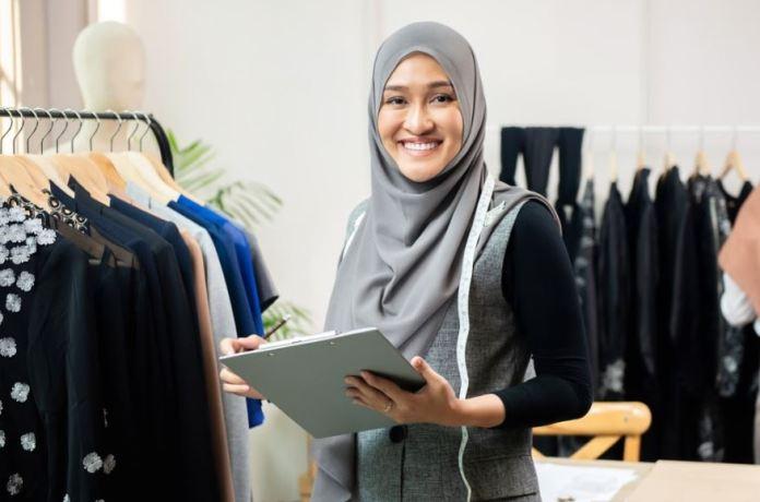 Bisnis busana muslim masih menjadi usaha yang cukup menjanjikan di Indonesia