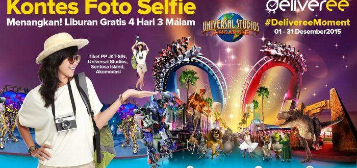 Kontes Foto Selfie Deliveree